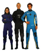 Dry and Wet suits by Mares